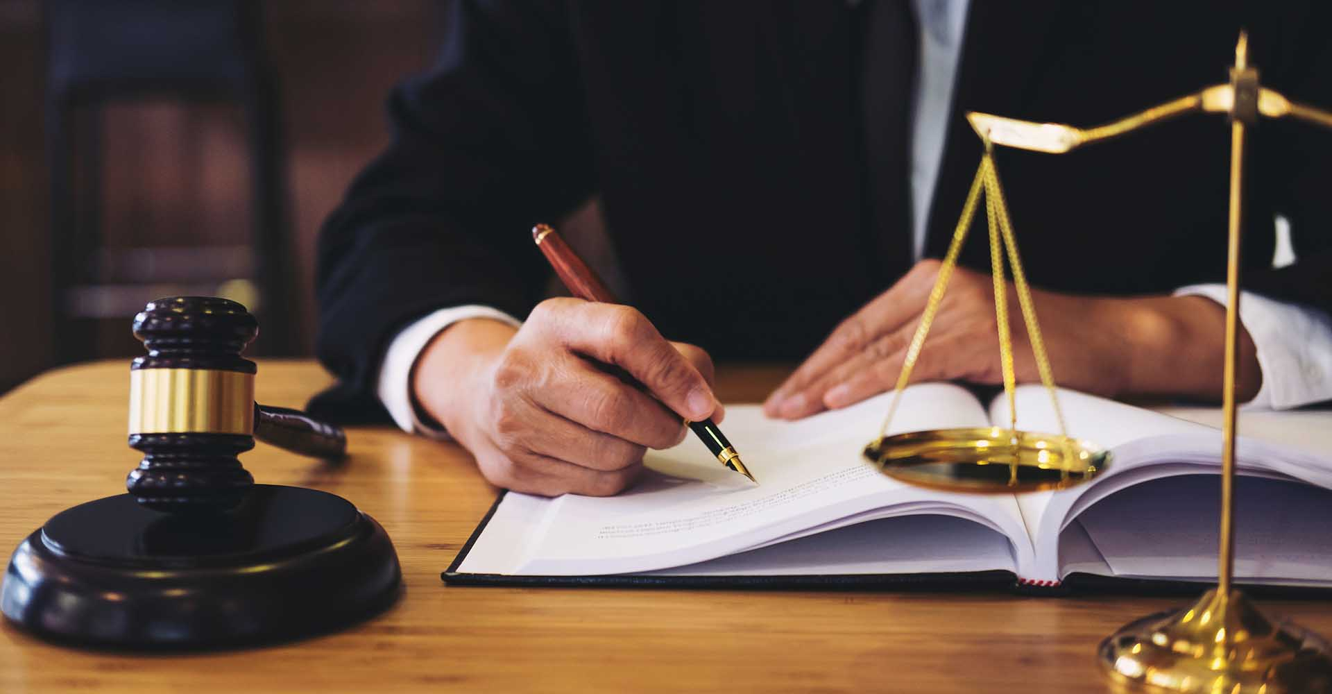Legal law advice and justice concept.